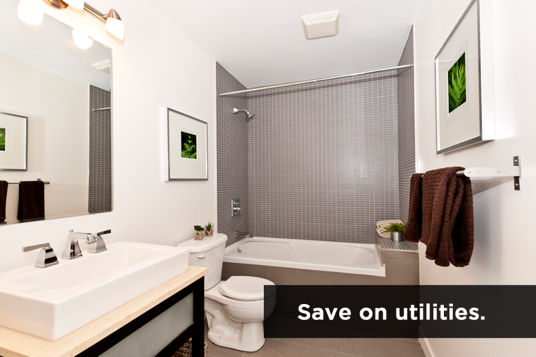 Make Bathroom Plumbing More Energy Efficient
