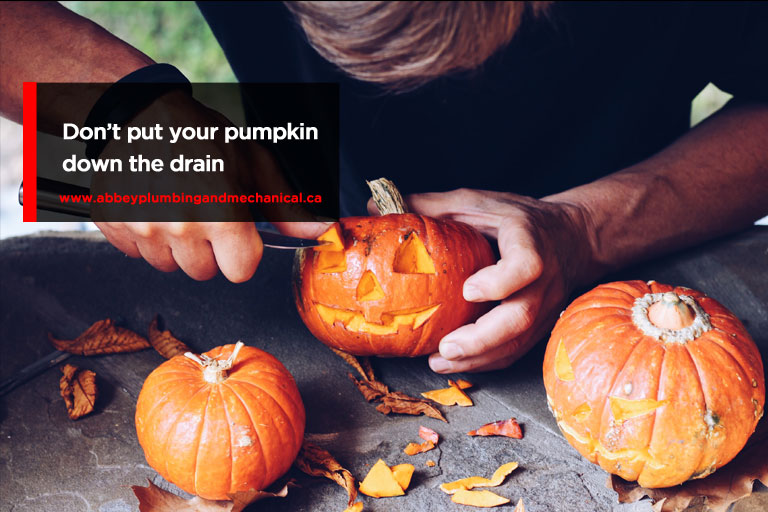 Seven Halloween Plumbing Tips