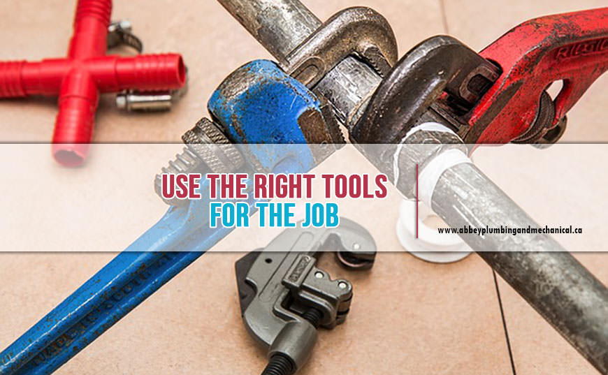 right tools